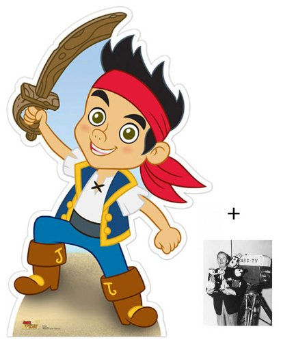 FAN PACK - Jake (Jake and The Neverland Pirates) Lifesize Cardboard Cutout / Standee - INCLUDES 8X10 (25X20CM) STAR PHOTO - FAN PACK #368 (Jake And The Neverland Pirates Cardboard Cutouts)