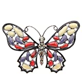 CINDY XIANG Beautiful Enamel Butterfly Brooches for Women Vintage Insect Pins Brooch Winter Style Coat Dress Accessories-red