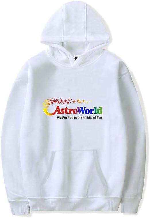 Mchooded Sudadera Unisex Clásico Travis Scott Astroworld Sudadera ...