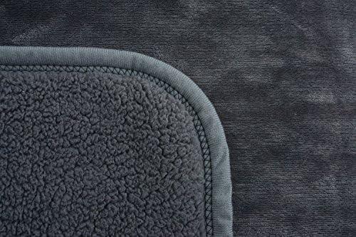 Peluche pour b/éb/é en flanelle et sherpa chaud S/écurit/é double couche de couverture 76/cm /× 100/cm cadeau pour Babyshower r/éception de la couverture Ataya Nid dange Couverture souple