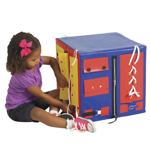ECR4Kids SoftZone Dress Me Up and Learn Cube