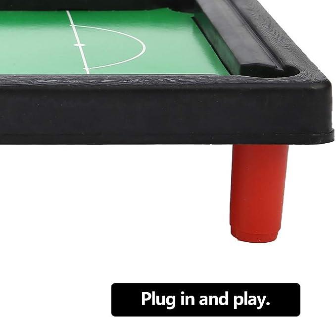 VGEBY Juguete de Las mesas de Billar Mini, Juego de Mesa de Billar ...