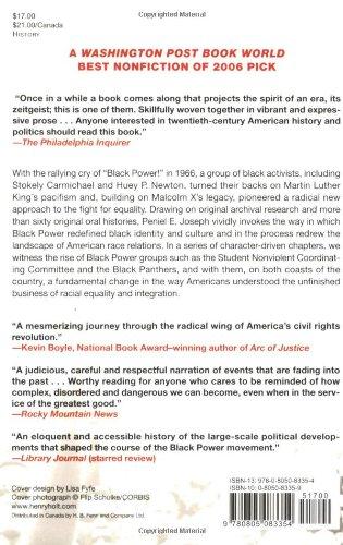 waiting til the midnight hour a narrative history of black power waiting til the midnight hour a narrative history of black power in america peniel e joseph 9780805083354 com books