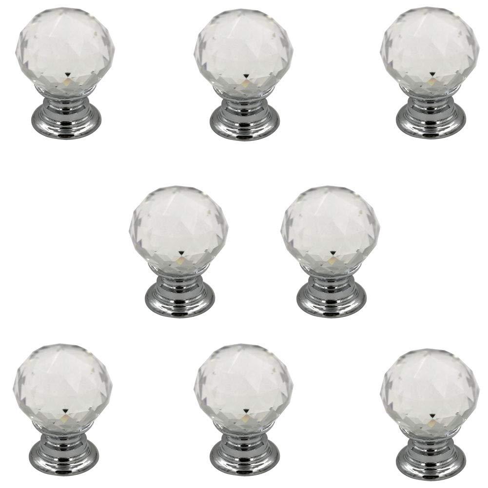 8 Tiradores - Simil Cristal (7KNW2PB2)