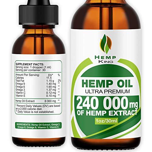Hemp Oil Drops 240