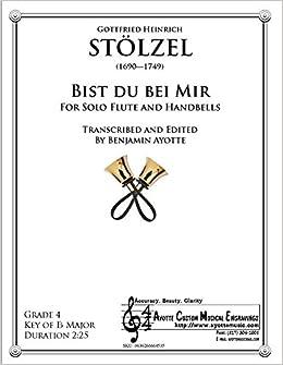 Bist Du Bei Mir Gottfried Heinrich Stölzel 0636266664535