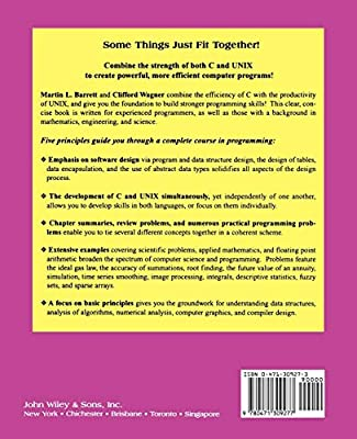C And Unix Tools For Software Design By Barrett Martin L Wagner Clifford H Amazon Ae