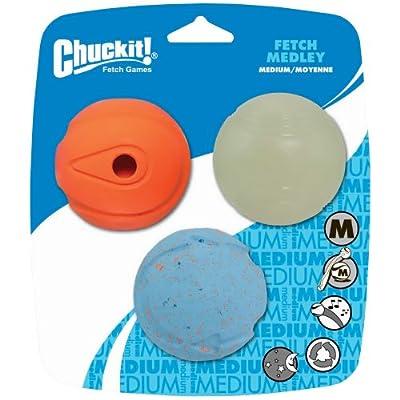 Chuckit! Fetch Medley Balls 3-Pack