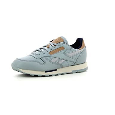 the best attitude 39460 6461d Reebok Classic Leather Utility Trainers Grey 7 UK