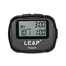 Docooler Digital Stopwatch Chronograph Timer Countdown Sports Stop Watch Counter Handheld for Swimming Running Interval Outdoor Activities