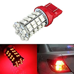 ILS - Red LED Bulb 3528 SMD 7443 T20 Tail Stop Brake Signal Light Lamp