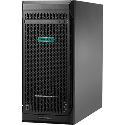 HP ProLiant ML110 G10 4.5U Tower Server – 1 x Intel Xeon Silver 4110 Octa-core (8 Core) 2.10 GHz – 16 GB Installed DDR4 SDRAM –