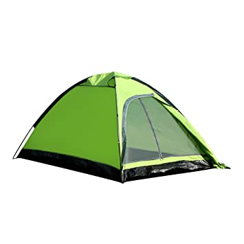 Enkeeo 2 Person C&ing Tent Ultralight Backpacking Tents with Carry Bag Dome Shape for Family Hiking  sc 1 st  Amazon.com & Amazon.com : Enkeeo 2 Person Camping Tent Ultralight Backpacking ...