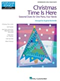 img - for Christmas Time Is Here: Popular Songs Series 1 Piano, 4 Hands (Hal Leonard Student Piano Library (Songbooks)) book / textbook / text book