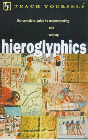 """Hieroglyphics (Teach Yourself)"" av Ra Bonewitz"