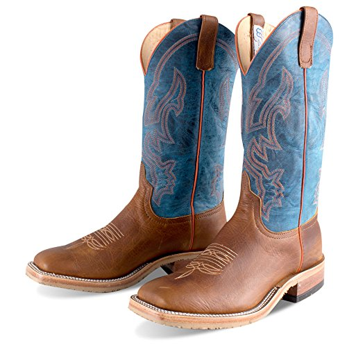 Anderson Bean Western Boots Mens Cuciture Tubing Pull Su Radica S3000 Marrone
