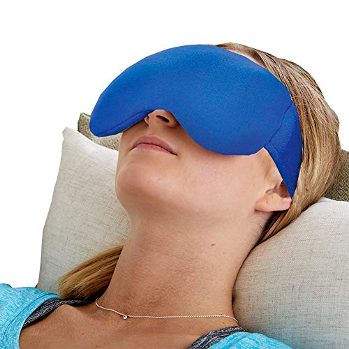 Bed Buddy Sinus Headache Relief Mask - Heated Eye Mask and Cold Eye Mask - Eye Ice Pack Mask for Puffy Eyes, Headaches, and Migraine Relief