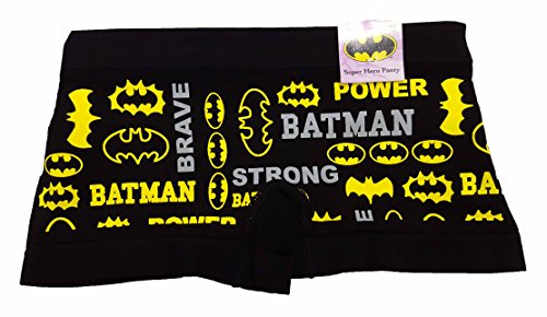 DC Comics Batman Logos Boyshort Seamless Panties - 2XL (Womens Batman Underwear)