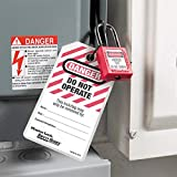 Master Lock Lockout Tagout Tags, Do Not Operate