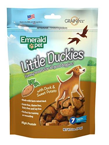 Smart n' Tasty Little Duckies with Sweet Potato Grain Free Dog Treats, 5-Ounce