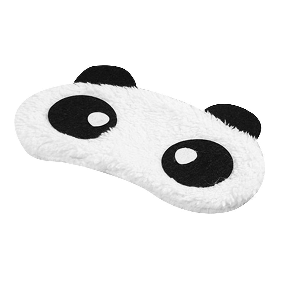 BaoST 3D Cartoon Eye Sleep Mask Padded Shade Cover Rest Relax Sleeping Blindfold Cover for Home and Travel (#6)