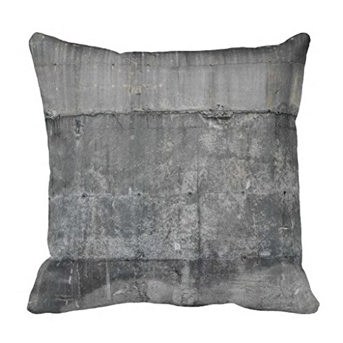 Modern Industrial Concrete Loft 18*18 pillow Case 2 (Concrete Decor)