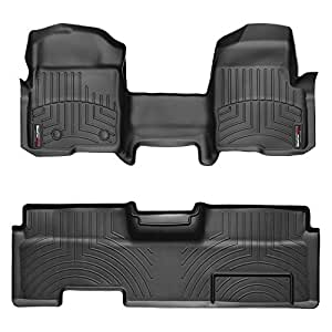 Amazon Com 2009 2014 Ford F 150 Weathertech Floor Liners