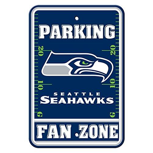 Fremont Die Official National Football League Fan Shop Authentic NFL Parking Sign (Seattle Seahawks) ()