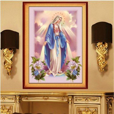 Top 9 recommendation diamond painting mary and jesus