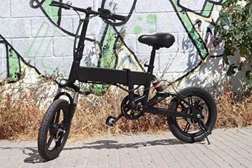 Bicicleta Eléctrica Rider Pro S9 Plegable E-Bike LED 25km/h ...