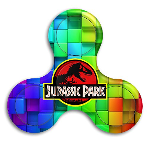 [Jurassic Park Logo Original Fidget Bearing Toy Edc Gyro Spinner 360 Fidget 360 Spinner] (Raptor Costume Jurassic Park)