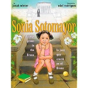 Sonia Sotomayor: La juez que creció en el Bronx de Jonah Winter | Letras y Latte - Libros en español
