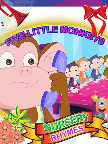 Nursery rhymes - Five Little Monkey