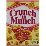 Crunch 'n Munch Caramel Popcorn With Peanuts (Pack of 12)