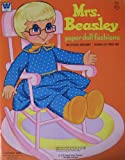 Whitman MRS. BEASLEY PAPER DOLL FASHIONS Book (1972 Western Publishing)
