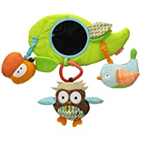 Skip Hop Baby Treetop Friends Wise Owl Stroller Bar Activity Toy, Multi