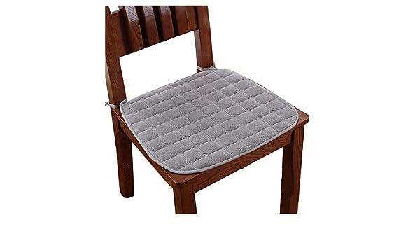 Fodera per sedia più morbida peluche per sedia invernale cuscino