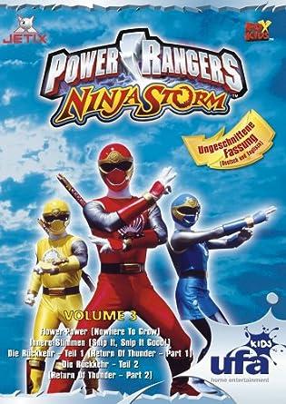 Amazon.com: Power Rangers - Ninja Storm Vol. 3 (Episoden 08 ...