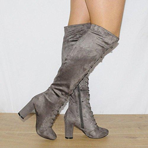 Shoe Closet - Stivali da Motociclista donna