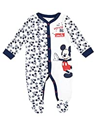 Disney Mickey Mouse Baby Boys' Mickey Mouse Footies