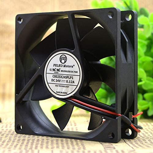 Cytom for Pelco PELKO Motors C8025X24SPLP1 24V 0.12A 8CM Cooling Fan