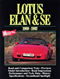 Lotus Elan and SE, 1989-92, R. M. Clarke, 1855202328