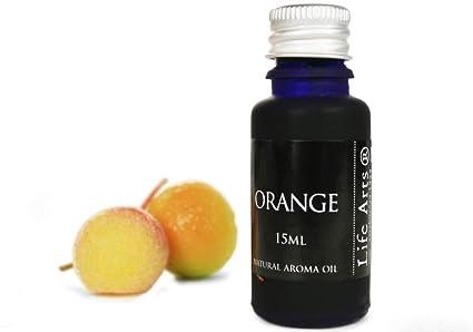 Profumo Aceite de aroma Naranja Botella de 15cc Fragancia Natural (7cm x 3cm)