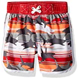 Wippette Baby Boys Swim Trunk, Shark Red, 18M