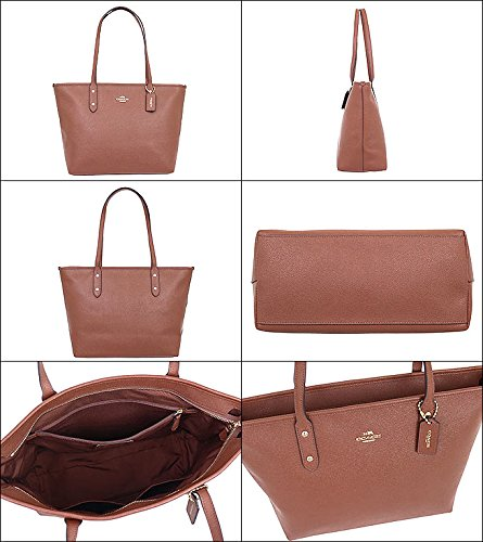 Coach Bag (Tote Bag) F58846 Leather Tote Bag Women's [Outlet Item] [Parallel Import Goods] (Saddle 2) by Coach (Image #1)