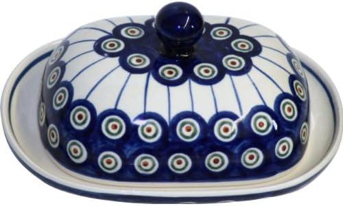 Bunzlauer Keramik Beurrier original ovale Motif 8