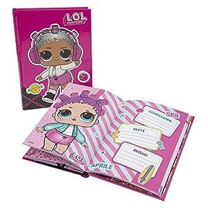 Giochi Preziosi LOL 19 Diario Scuola 10 Mesi, Formato Standard, 320 Pagine, Grafiche Assortite 11 spesavip