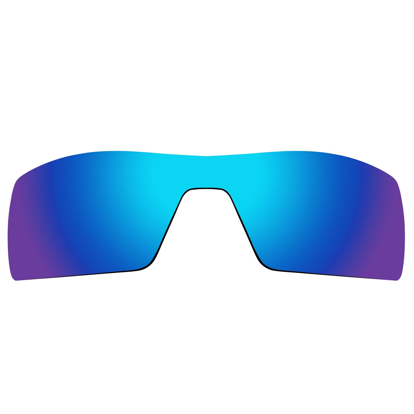Acompatible de remplacement de lentilles pour lunettes de soleil Oakley Oil Rig Gen 1, Blue Purple Mirror - Polarized
