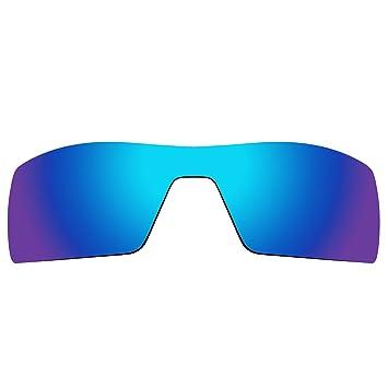 7aca5e4967a ACOMPATIBLE Replacement Lenses for Oakley Oil Rig Sunglasses Gen 1 (Blue  Purple Mirror - Polarized