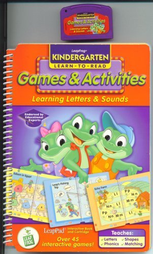 Leapfrog Games & Activities, Learning Letters & Sounds